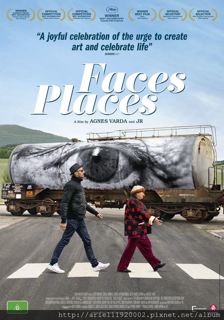 電影【最酷的旅伴】Faces Places 給一個目標,你願意重新啟程嗎?