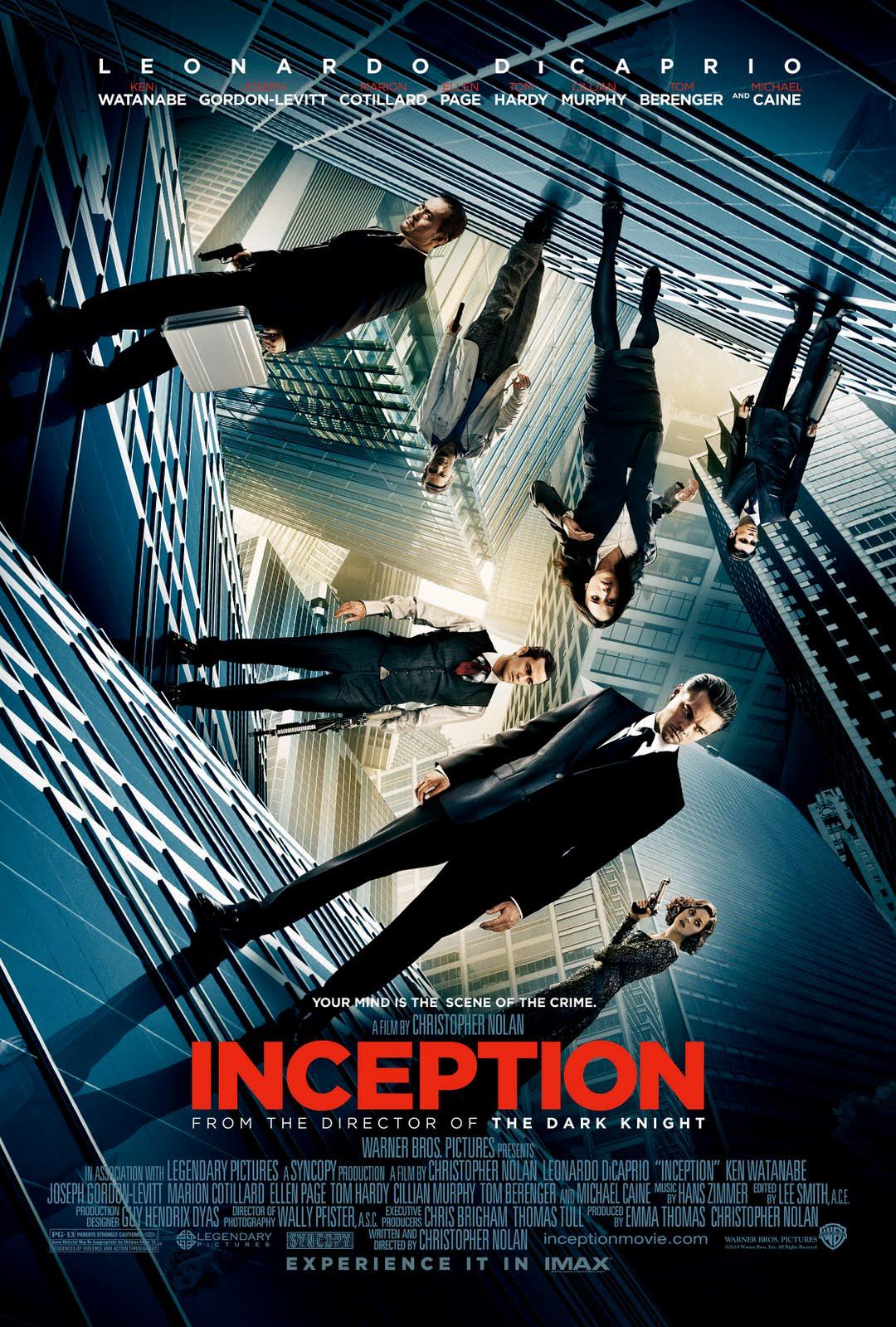 電影【全面啟動】Inception |盜夢空間 | 潛行兇間 影評