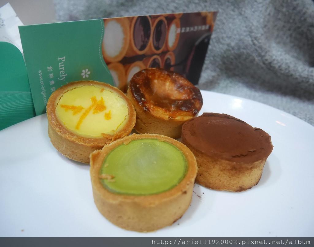 【宅配美食】鮮粹集烘培坊|北海道十勝乳酪蛋糕、點心塔